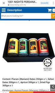 1001 Nights Perdana Dried Fruit Gift Set