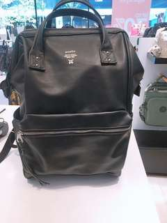 anello backpack pu leather original japan