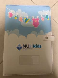 NUH KIDS health booklet cover