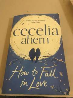 How to fall in love book