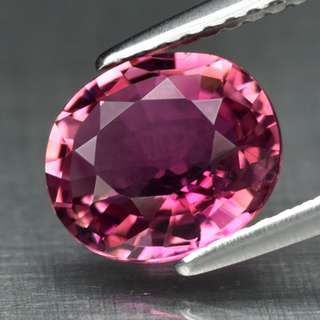 1.90ct Oval Natural Pinkish Purple Tourmaline