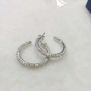 Swarovski earrings loop