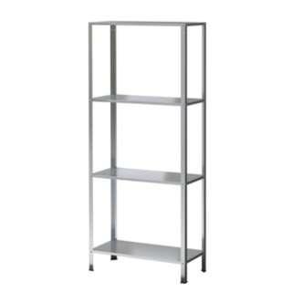 =READY STOCK=IKEA HYLLIS Shelving Storage Unit unit, in/outdoor galvanised Rak