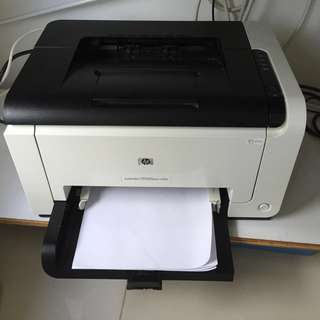 HP Printer laserJet cp1025nw color