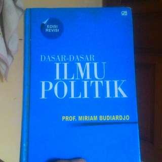 Buku Pengantar Ilmu politik