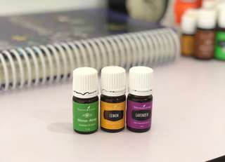 Trio Calm & Sleep with young living essential oils