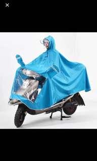 摩托車單人雨衣面罩加大加厚