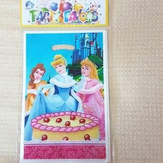 Disney Princess Party Loot Bags