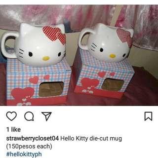 HELLO KITTY DIE CUT MUG