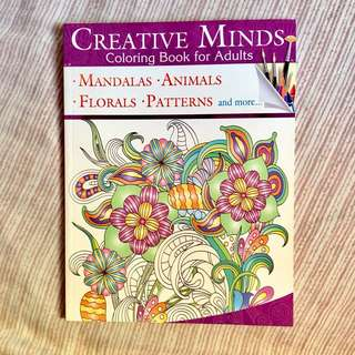 Creative Minds Coloring Book for Adults