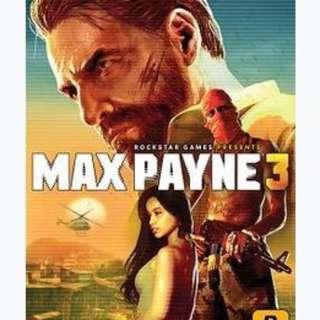 Max Payne 3 PS3 (PlayStation)Games