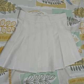 🚚 百褶裙 白
