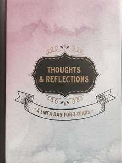 Thoughts & Reflections Book