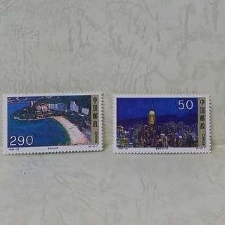 中國郵票 (a set of 4)