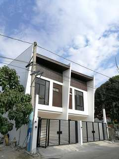Two storey attached house modern home