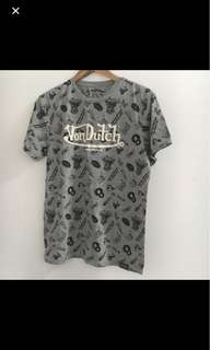 Von dutch t shirt size S