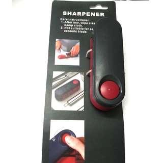 Folding knife sharpener and honer