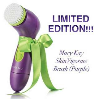 Limited edition skinvigorate cleansing brush