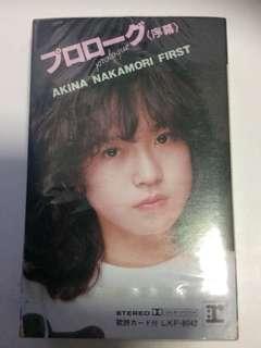 中森明菜 Akina Nakamori First Album Debut 卡带 Cassette