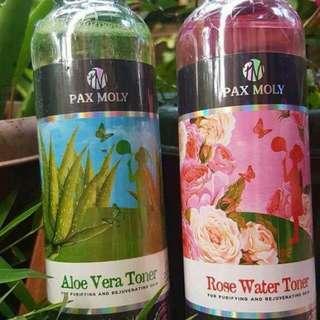 Rose Water Toner and Aloe Vera toner