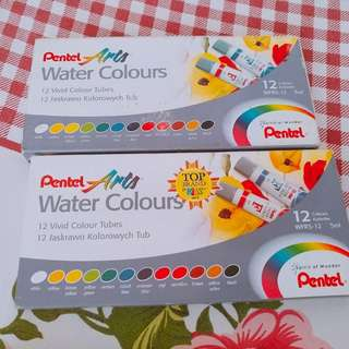 Pentel Arts Water colors