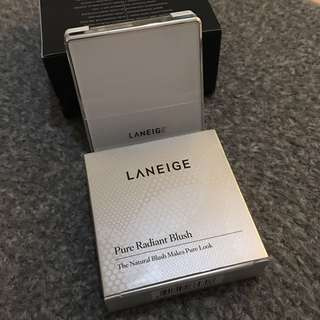 Preloved Laneige pure radiant blush, the natural blush makes pure look