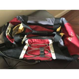 🔥REPRICED🔥Olympia Red Sports Duffel Bag