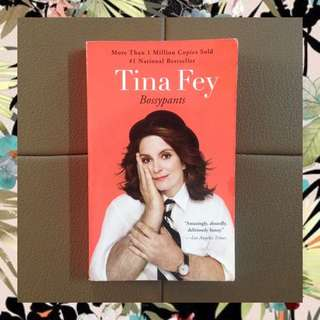 Tina Fey - Bossypants (paperback)