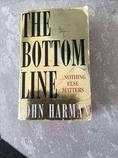 The bottom line book