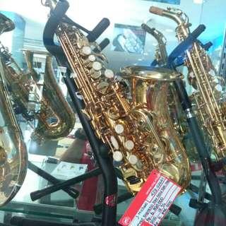 Kredit J Michael Curved Soprano Saxophone Gold SPC.700