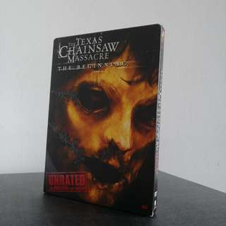 The Texas Chainsaw Massacre: The Beginning 2006 DVD