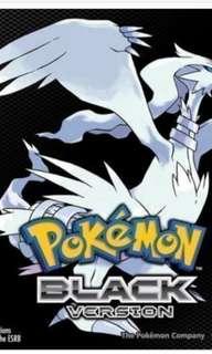 Pokemon Black & White DS