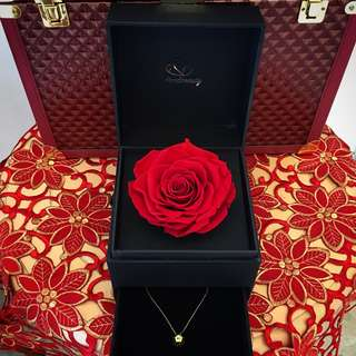 Mother's Day gift / preserved rose / presents / valentine day present
