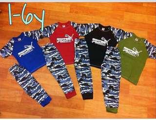 Puma Long Pants set