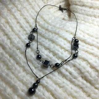 fashion - cube necklace
