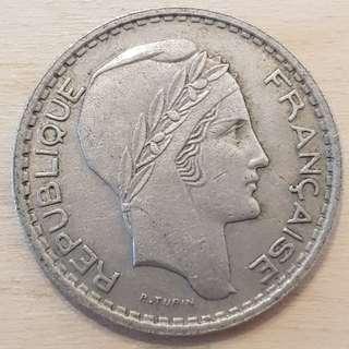 1947 France 10 Franc Coin