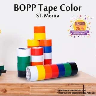 ST. MORITA - OPP TAPE 45 mic - LAKBAN 48 mm x 91 m - Yellow