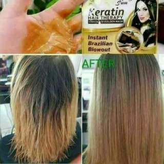 keratin hair therapy