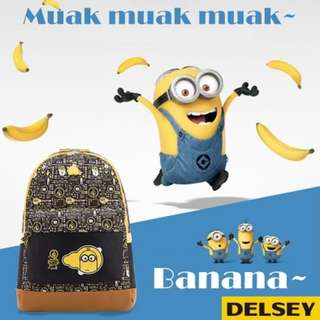 🆕Despicable Me Minions Large Backpack by Delsey