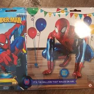 "Spiderman 36"" foil balloon. Superheroes Party decoration"