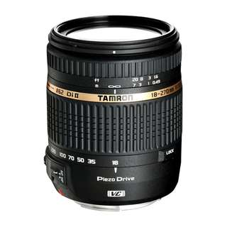 🚚 Tamron 18-270mm f3.5-6.3 Di II VC PZD Lens (Canon or Nikon Mount) *NEW*