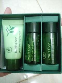 Innisfree Green Tea Kit For Night