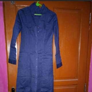 SALE ON APRIL!!! **FREE** Dress Biru Donker