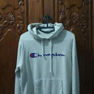 Champion Hoodie Script Embroidered