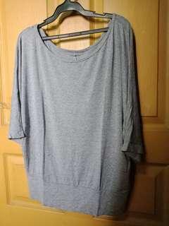 Light gray blouse