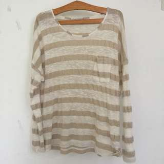 M&S striped top