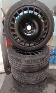 VELG&BAN RING 18 EX S-CROSS