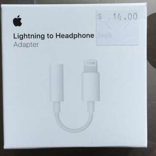 NEW: Apple Lightning To Headphone Adaptor