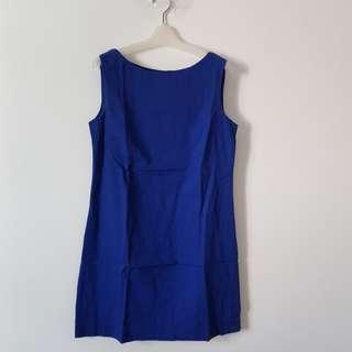 MANGO Dress Blue
