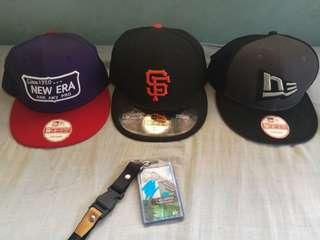 New Era Caps (SF Giants, New Era Logo)